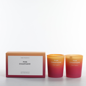 As Simple As Color Collection Pink Champagne 70g*2 Scented Candle