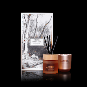 Forest Mist Distingue Devore 250g Scented Candle And 200ml Reed Diffuser