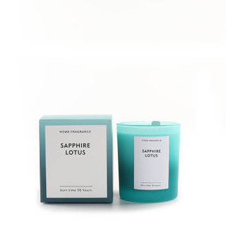 As Simple As Color Collection Sapphire Lotus 150g Scented Candle