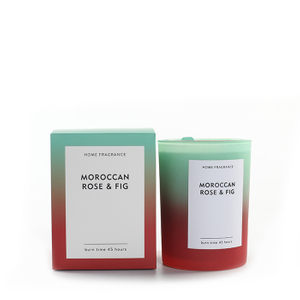 As Simple As Color Collection Moroccan Rose&Fig 250g Candle Scented