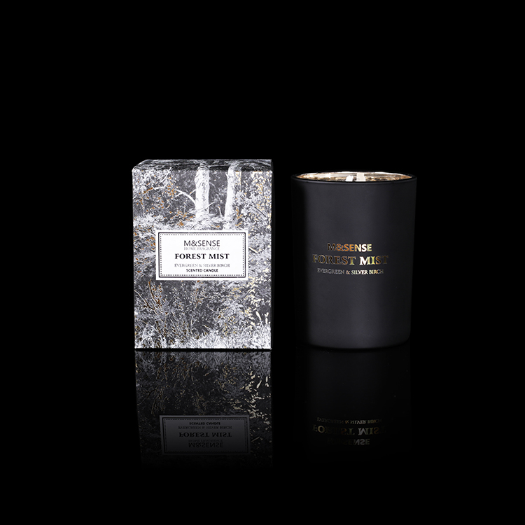 Forest Mist Everyreen & Silver Birch 250g Scented Candle Burning 43h